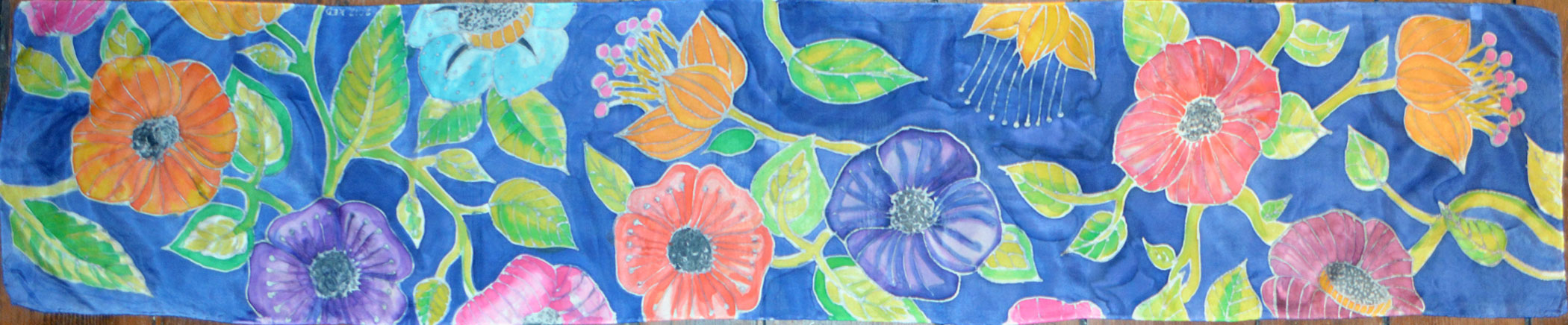 Silk Painting Kate Disbrow Creative Communications Design